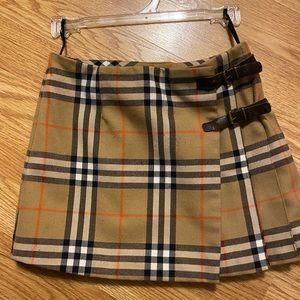 Girls Burberry Skirt size 5